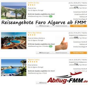 Reiseangebote Algarve ab Memmingen