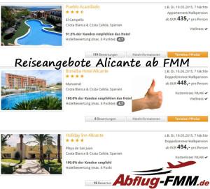 Reiseangebote Alicante