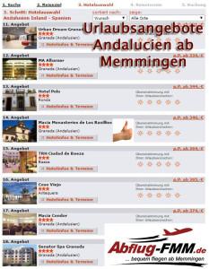 Urlaubsangebote Andalucien
