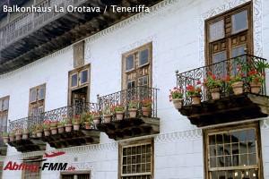 Balkonhaus La Orotava auf Teneriffa