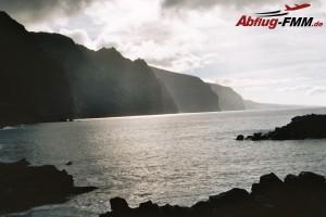 Hohe Berge + weites Meer finden Sie auf der Kanareninsel Teneriffa