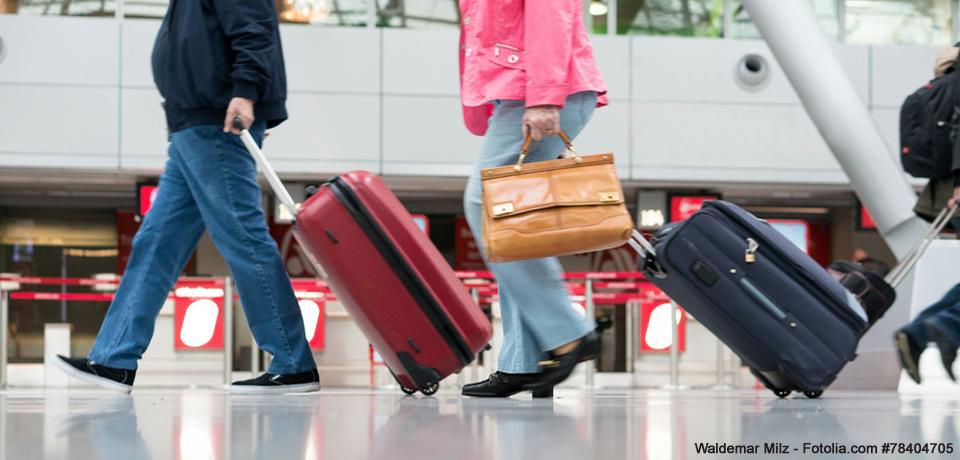 Gepaeckbestimmungen Flugreisen