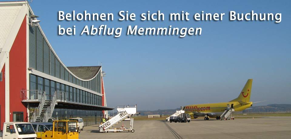 Reiseportal Abflug Memmingen Airport