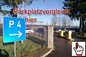 Parkplatzvergleich Allgaeu Airport Memmingen