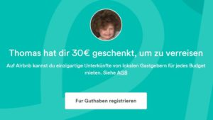 AirBnb Gutschein Memmingen