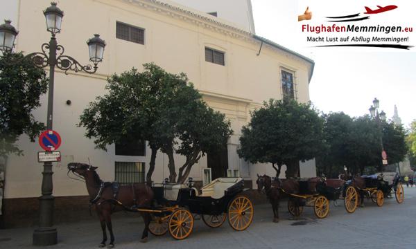 Sevilla Pferdekutschen